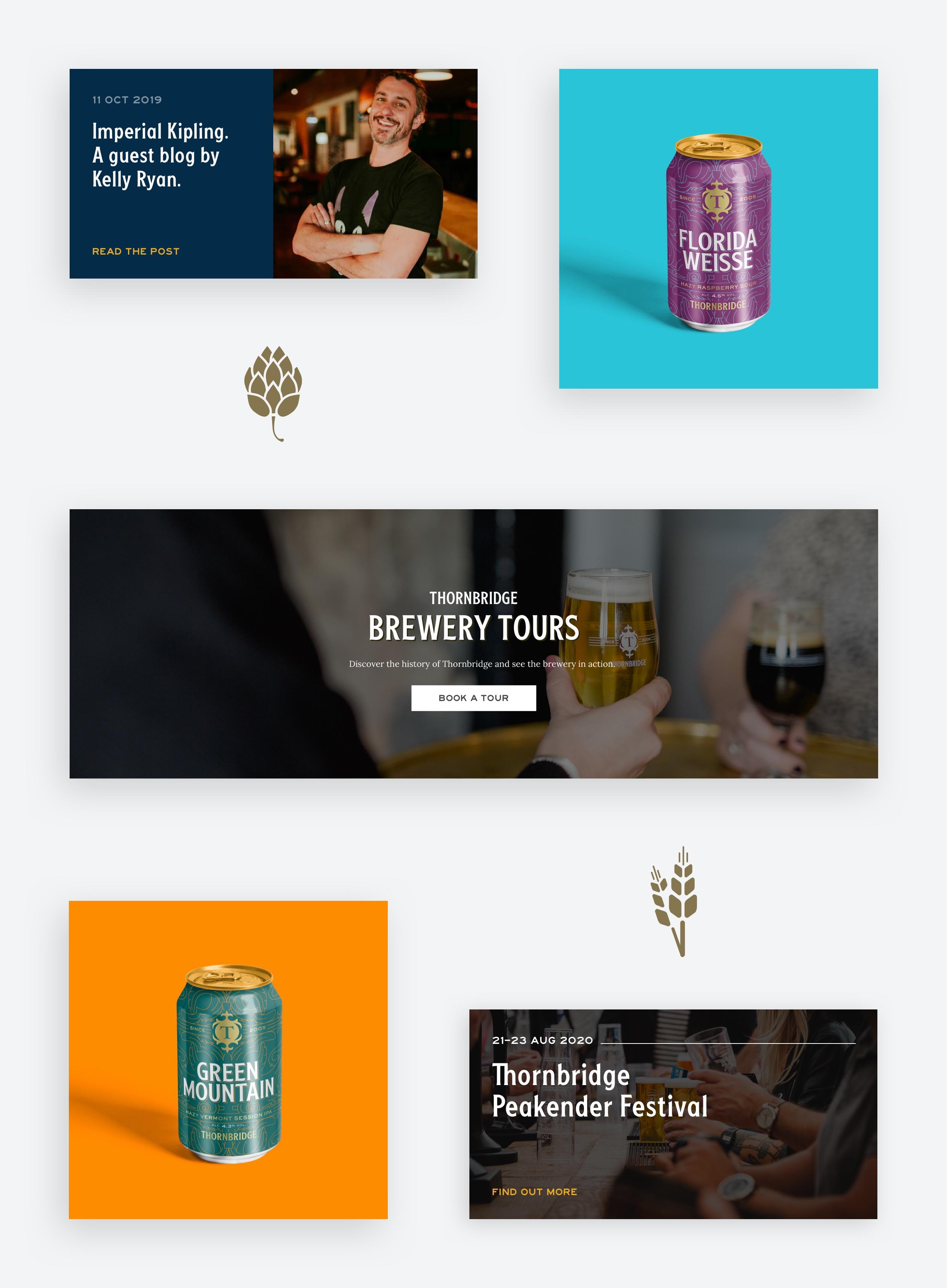 Thornbridge Brewery designs