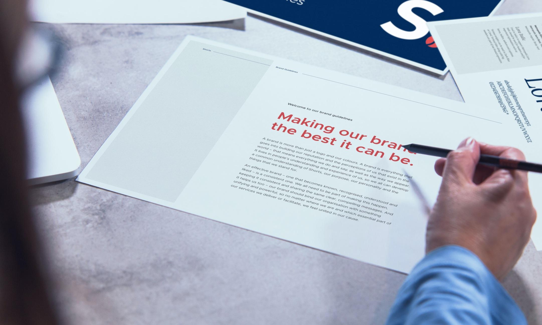 Shorts Accountants printed designs