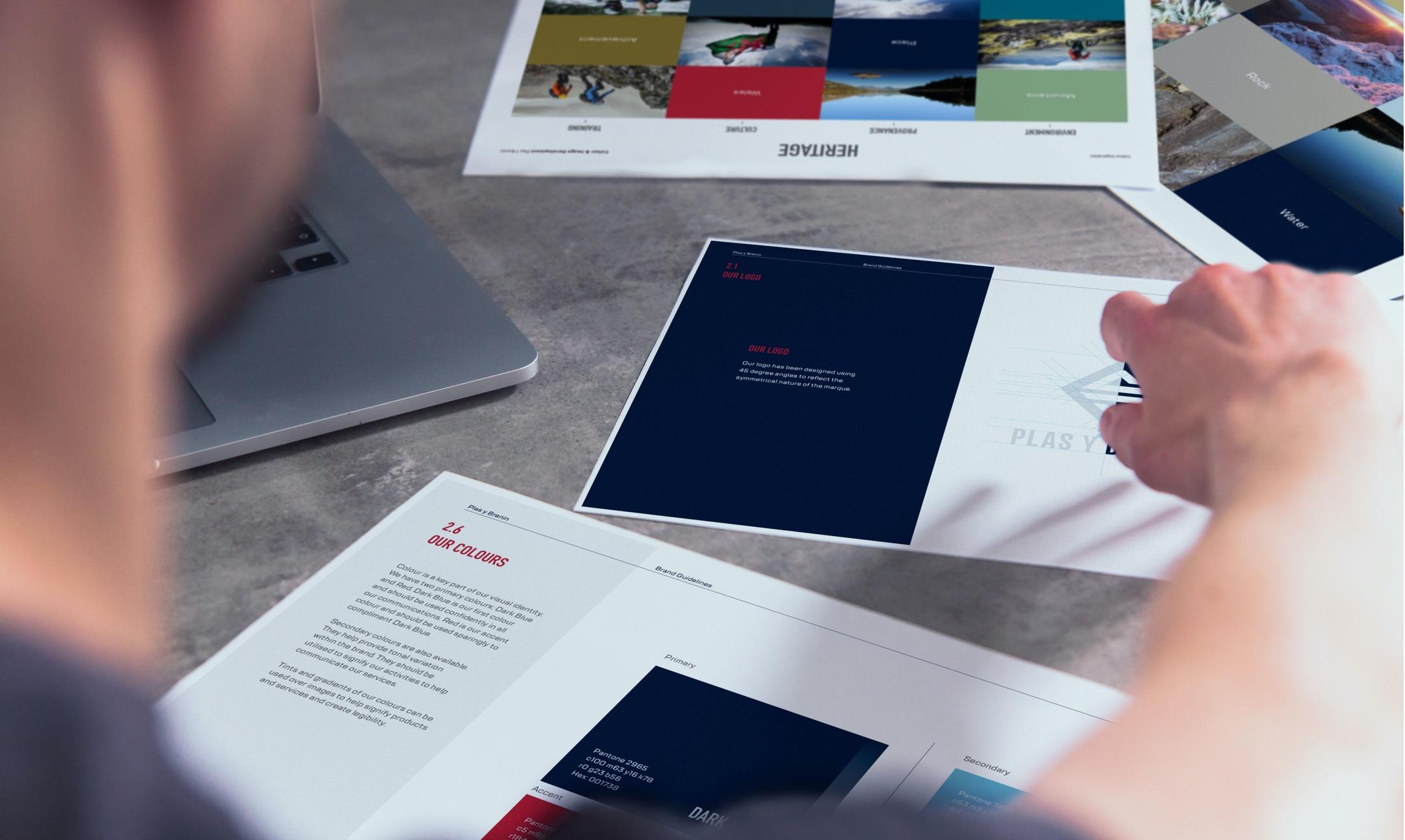 Plas Y Brenin (PYB) printed materials