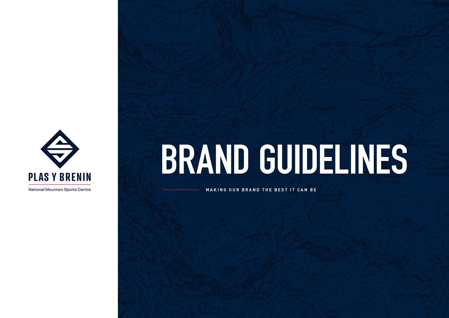 Plas Y Brenin (PYB) Brand Guidelines