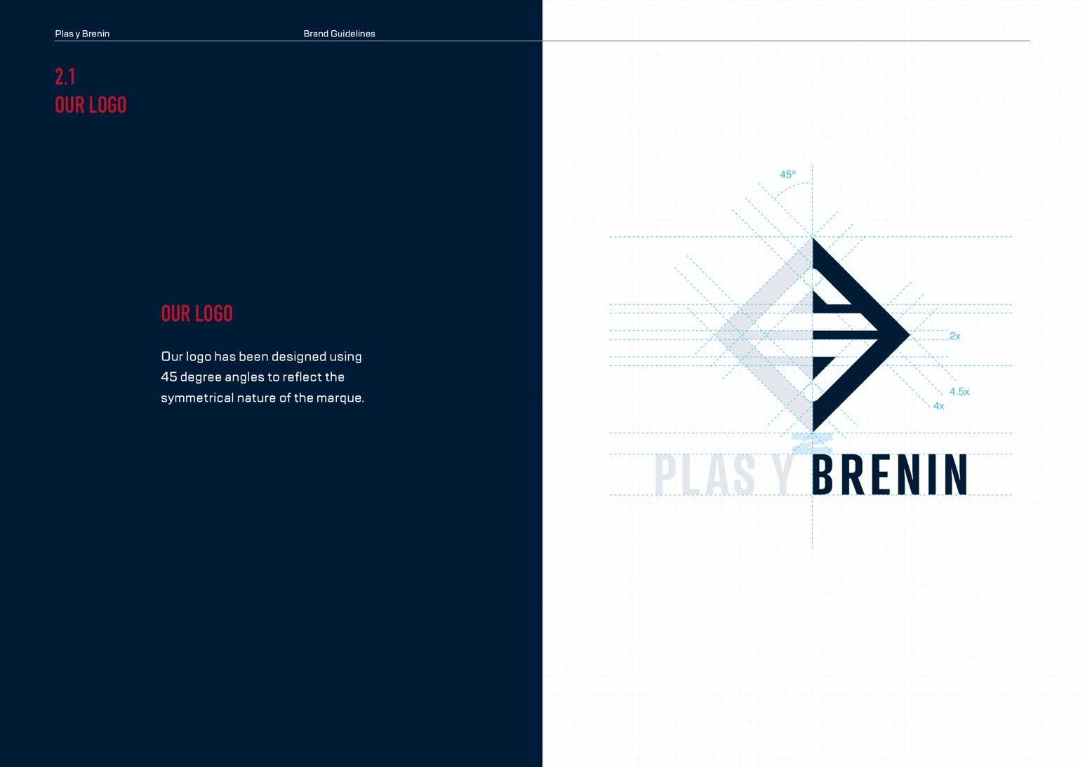 Plas Y Brenin (PYB) Brand Guidelines - The Logo