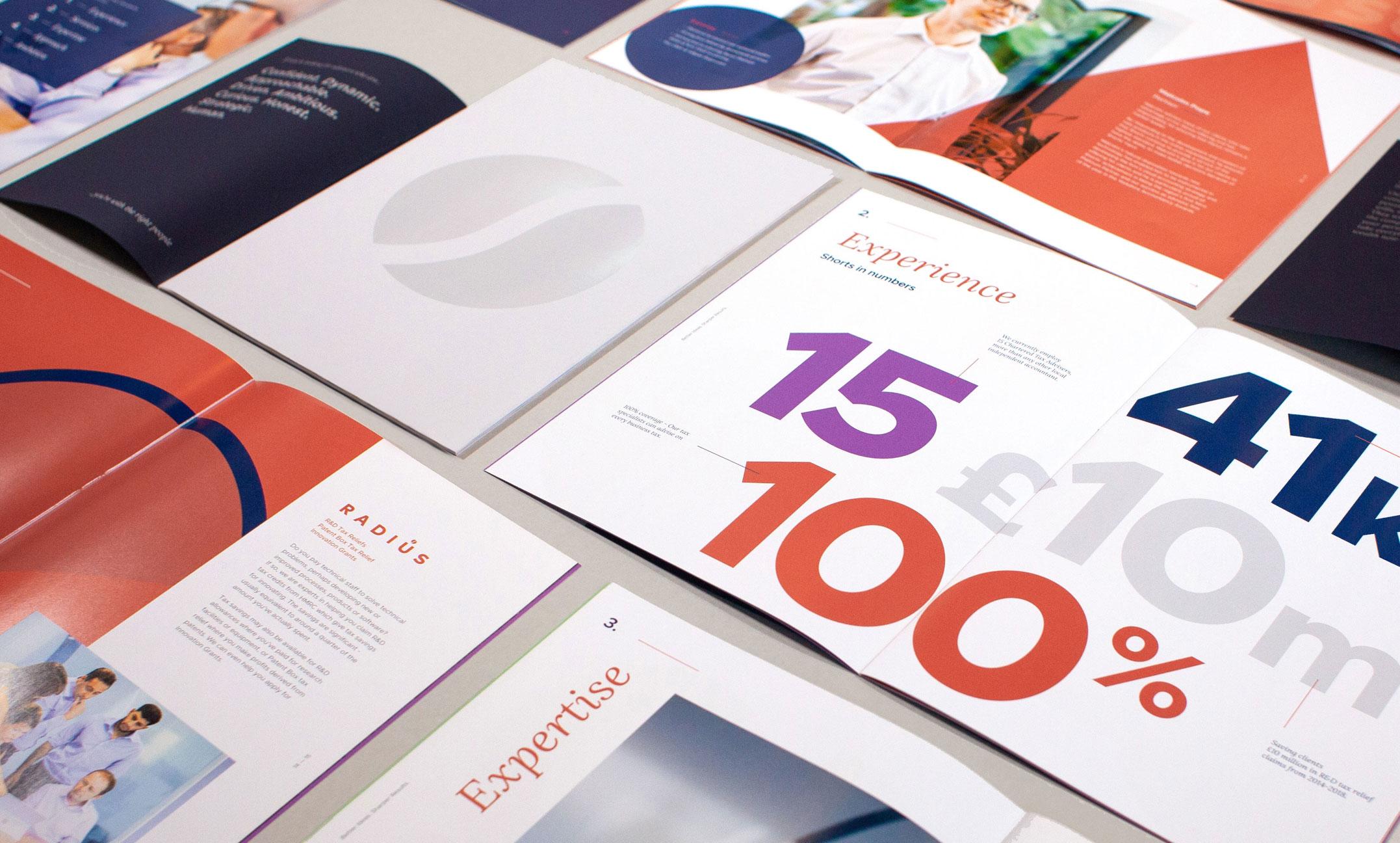 Shorts Radius brochures