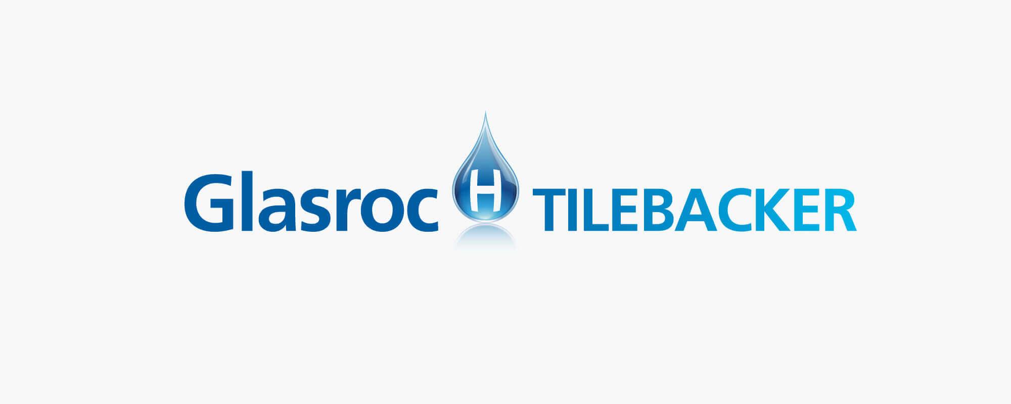 Glasroc Tilebacker logo