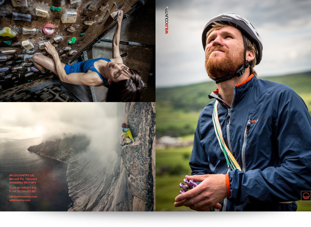 Mixture of climber photographs
