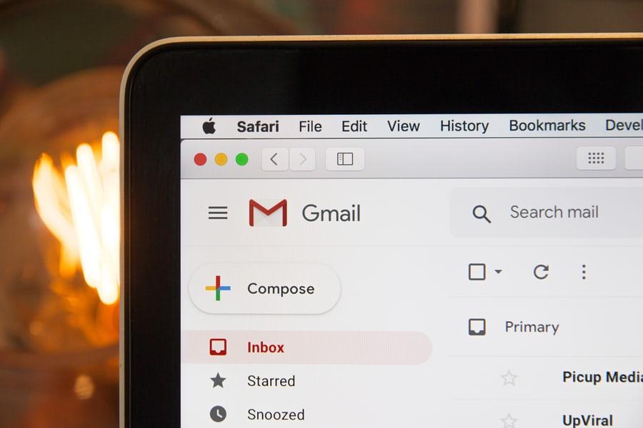 Gmail on a Mac