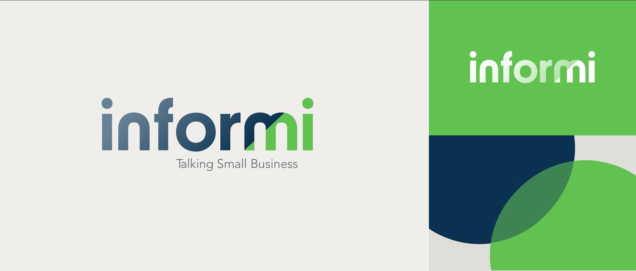 Inform logo & pattern