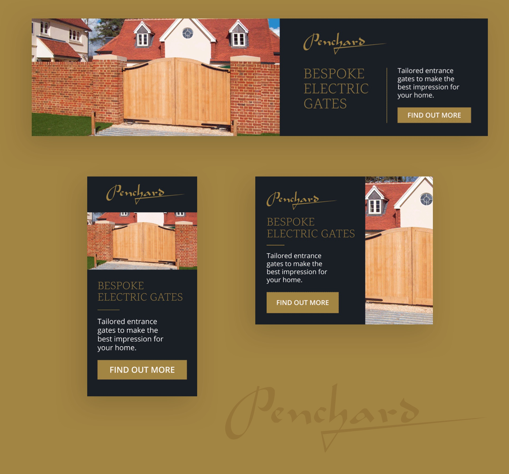 Penchard Gates brochures