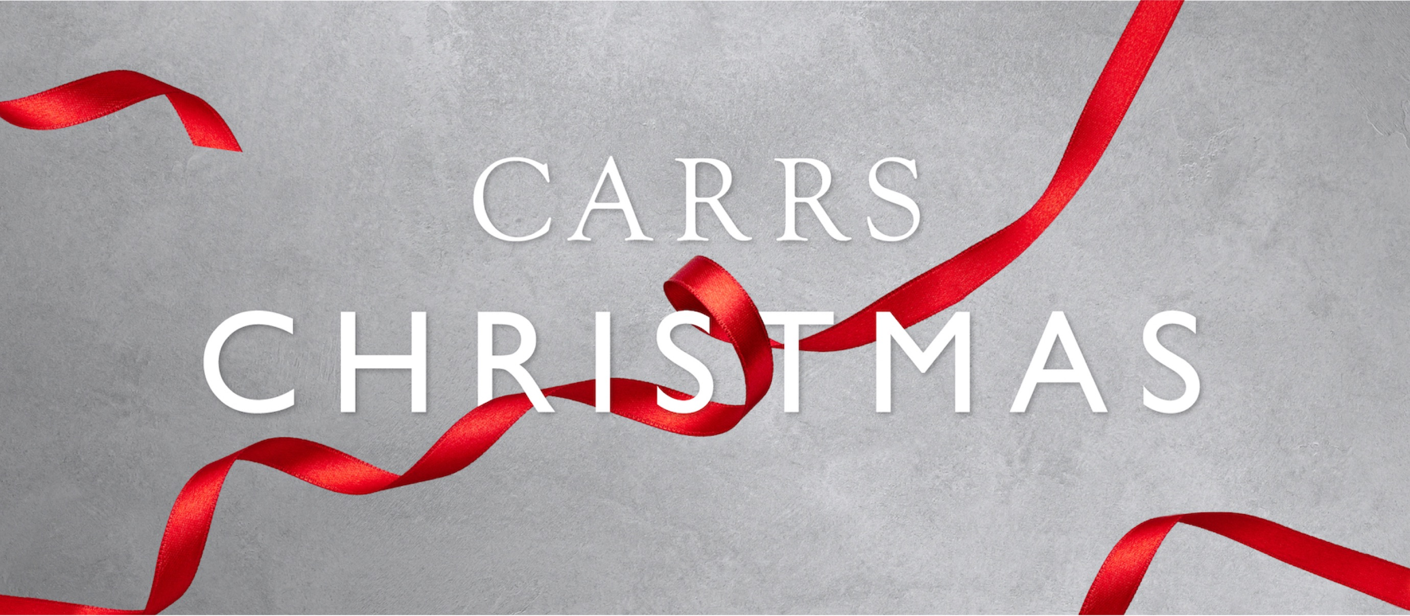 Carrs at Christmas campaign