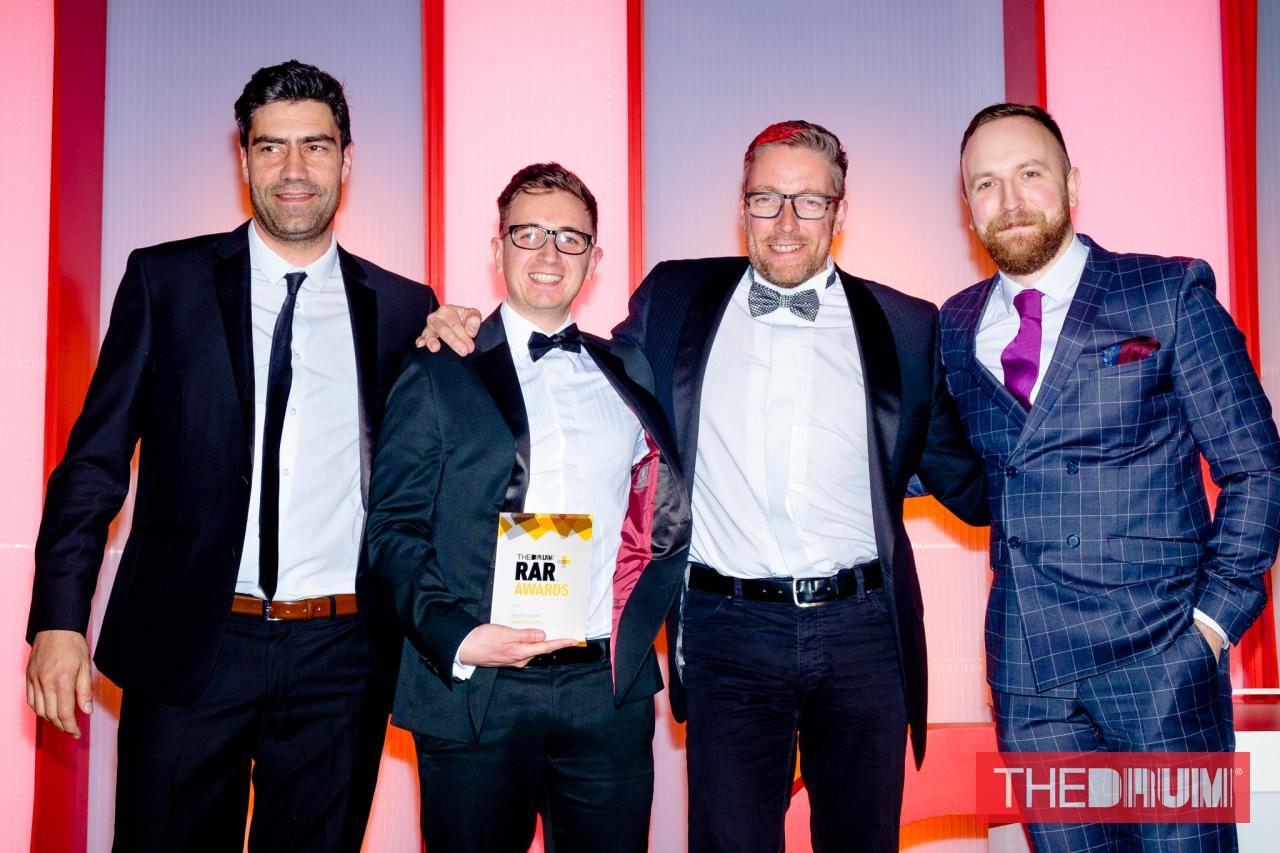 RAR 2018 - brand startegy award